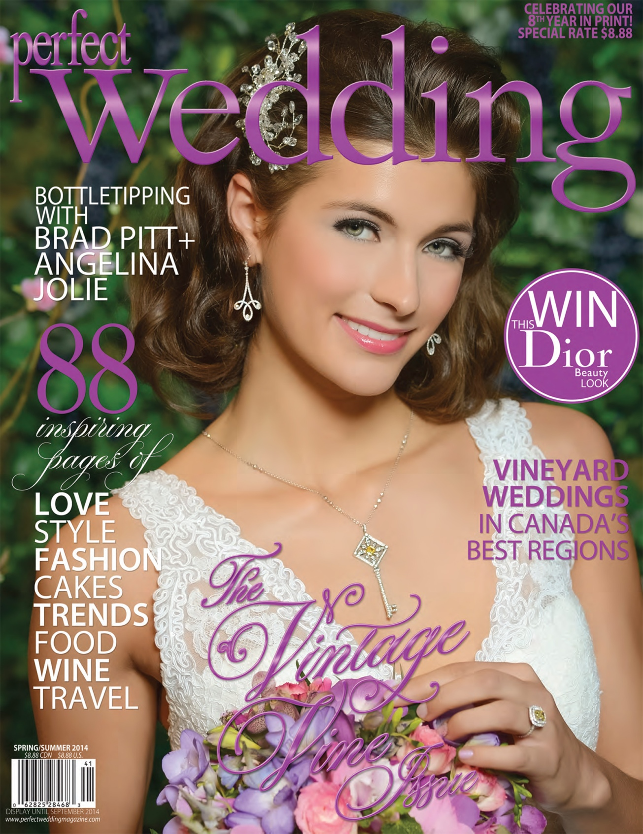 Perfect Wedding Magazine Spring / Summer 2014 Cover