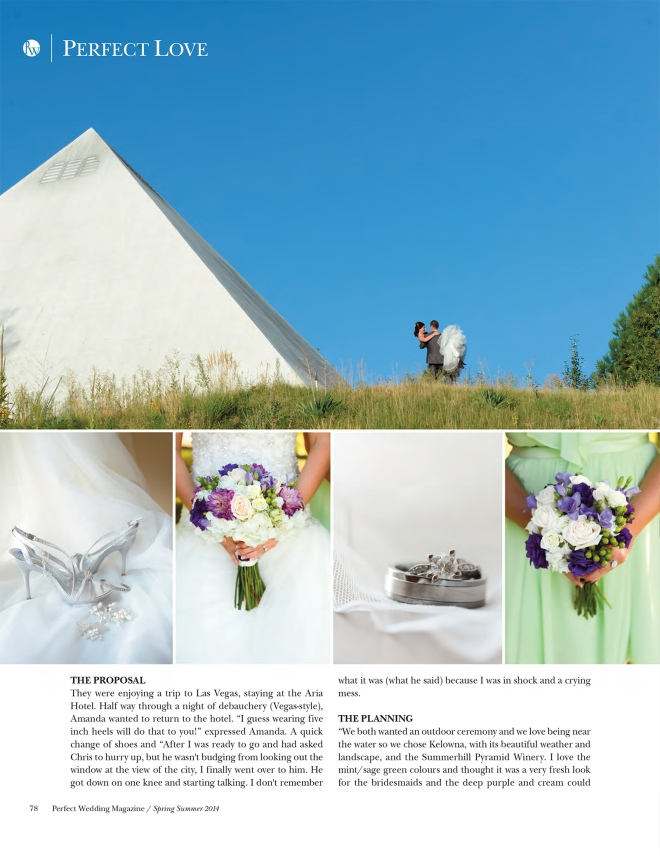 Summerhill Pyramid Winery Wedding