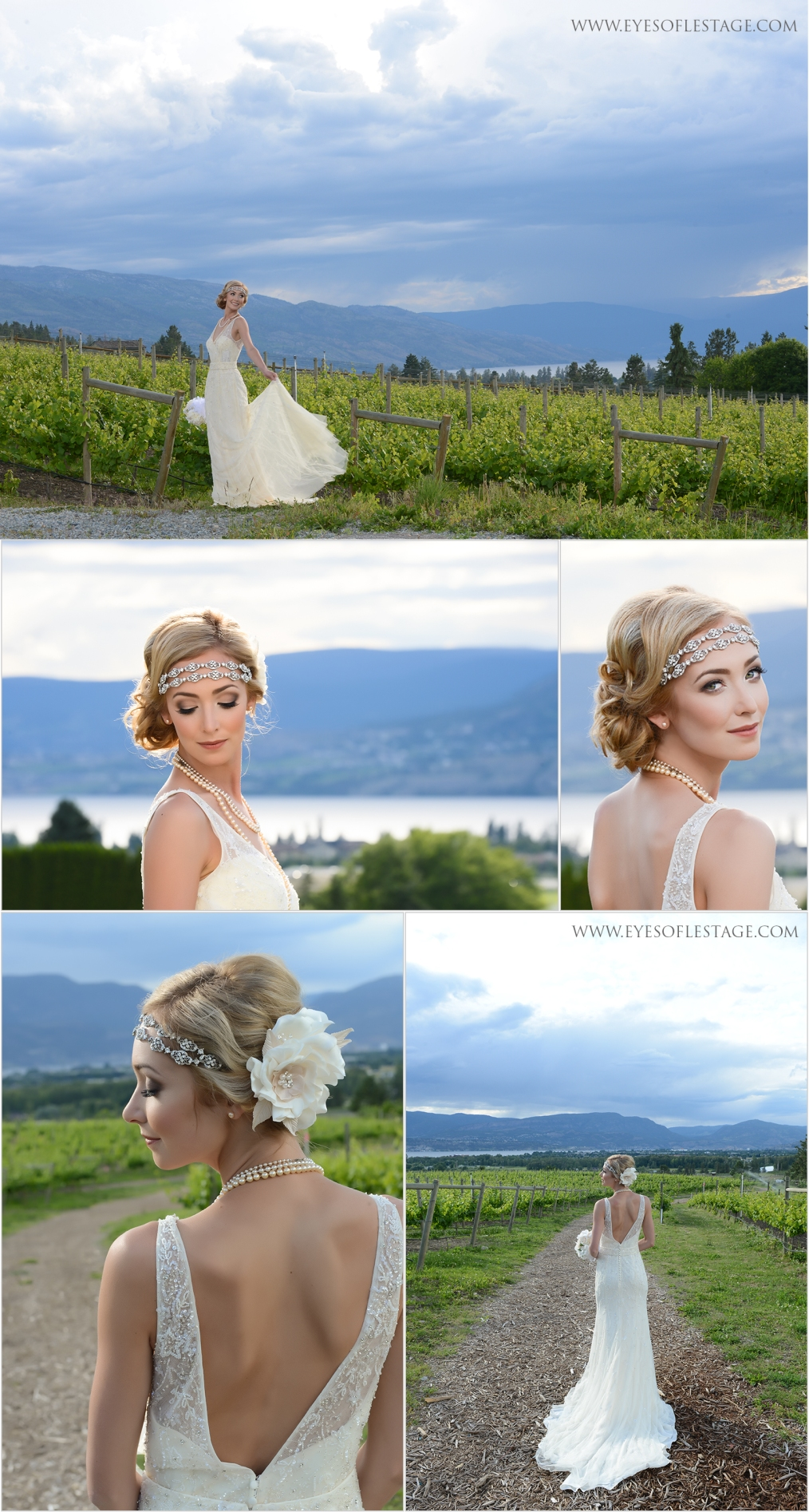 Model Shelby Duncalfe's hair by Amy of Tie The Knot Hair Design, Makeup by Bri Stein Artistry