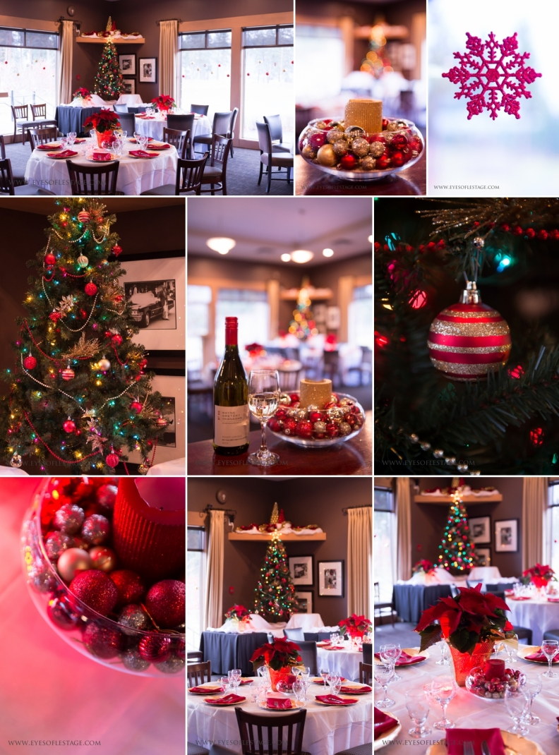 Christmas Decor - Milestones Events - Suzanne Le Stage Photography