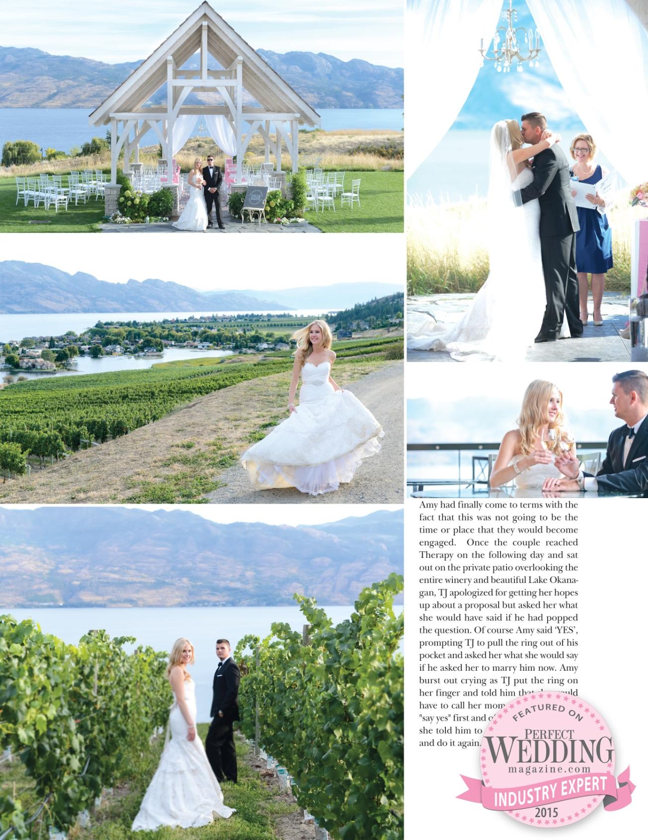 Sanctuary Gardens & Quails Gate Winery - West Kelowna Wedding Venues