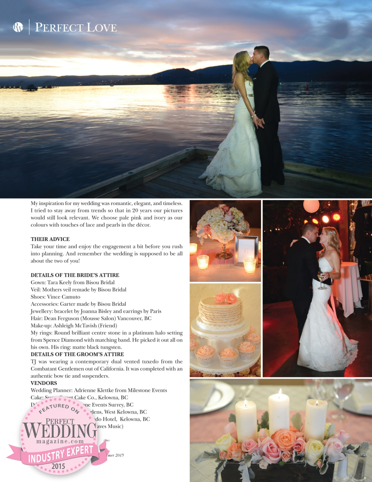 Hotel Eldorado - Kelowna Okanagan Weddings