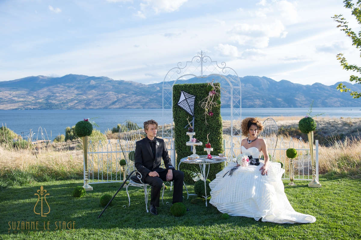 Mary Poppins Kelowna Okanagan Photography Wedding Photographer Suzanne le stage Sanctuary Gardens